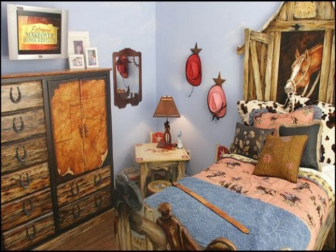 Best Rustic Themed Bedroom Western Theme Bedroom Decor *D*Lt With Pictures