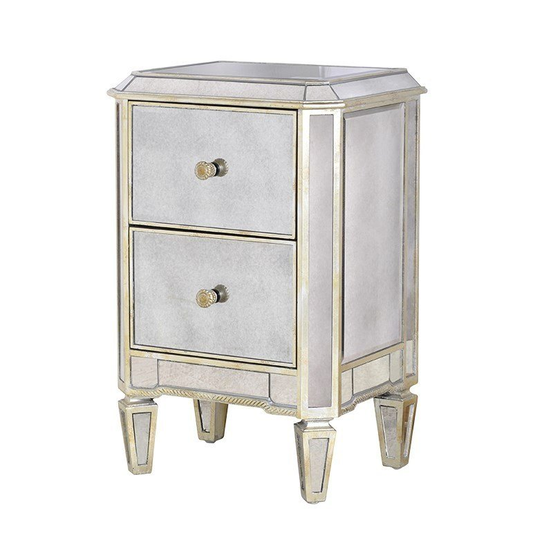 Best Venetian Aged Contemporary 2 Drawer Bedside Venetian With Pictures