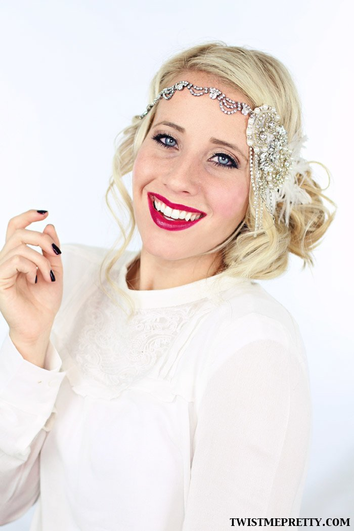 Free 2 Gorgeous Gatsby Hairstyles For Halloween Or A Wedding Wallpaper