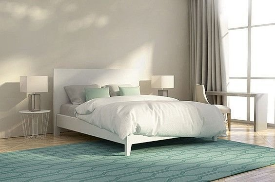 Best 33 Bedroom Rug Ideas Area Rugs And Decorating Ideas The Sleep Judge With Pictures