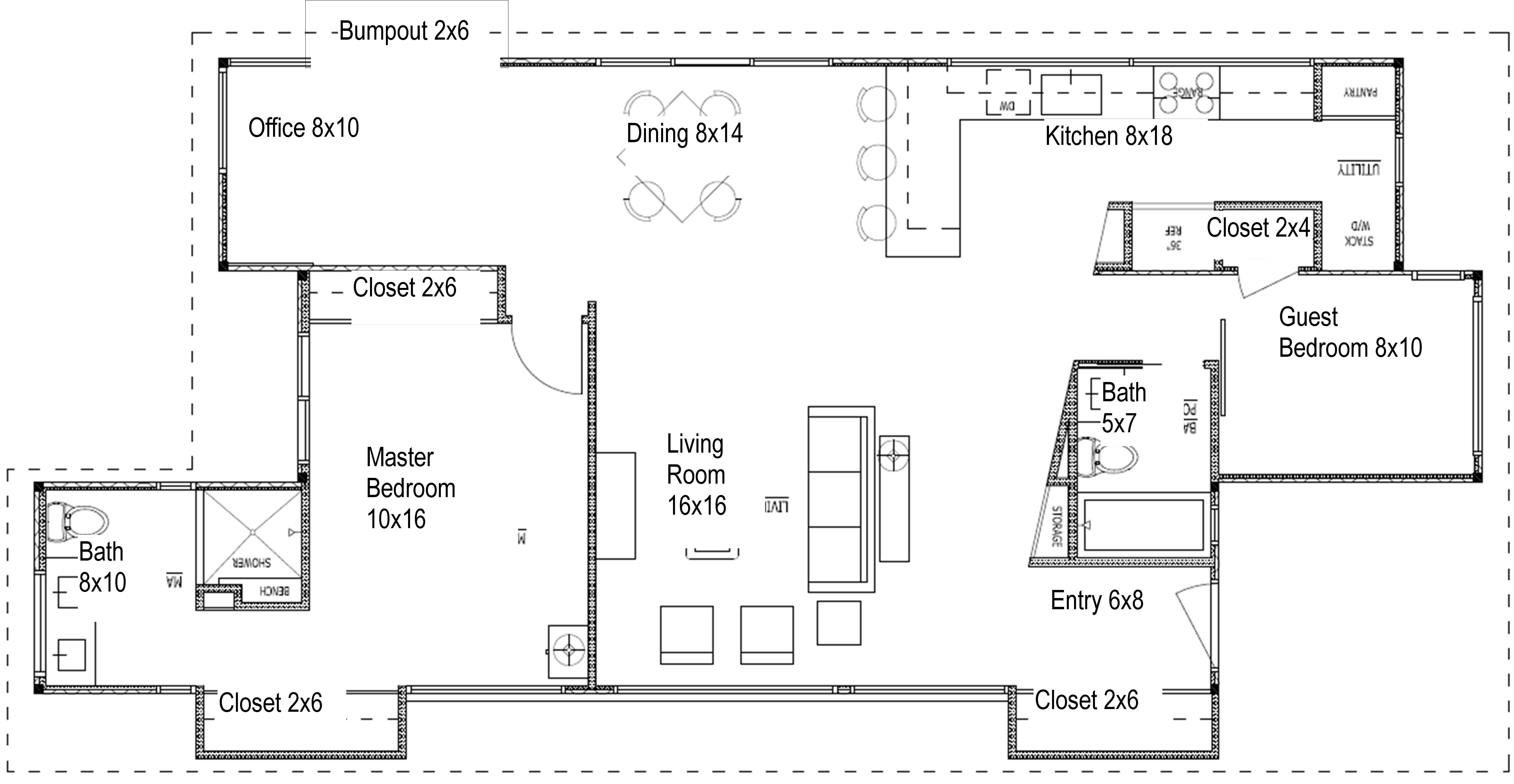 Best Ideas Standard Closet Dimensions With Minimum Dressing With Pictures