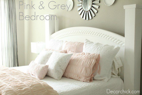 Best Our New White Pink And Grey Bedroom Decorchick With Pictures