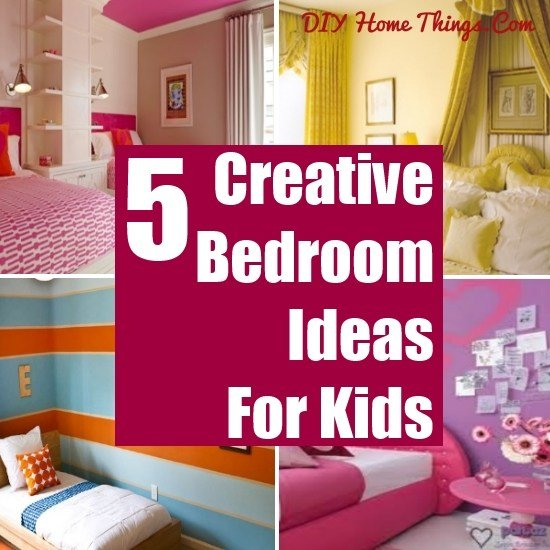 Best 5 Creative Shared Bedroom Ideas For Kids Diy Home Things With Pictures