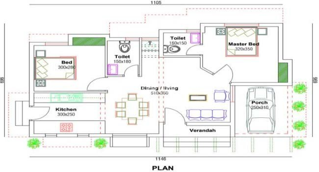 Best 650 Square Feet 2 Bedroom Low Budget Single Floor Home Design And Plan Home Pictures Easy Tips With Pictures