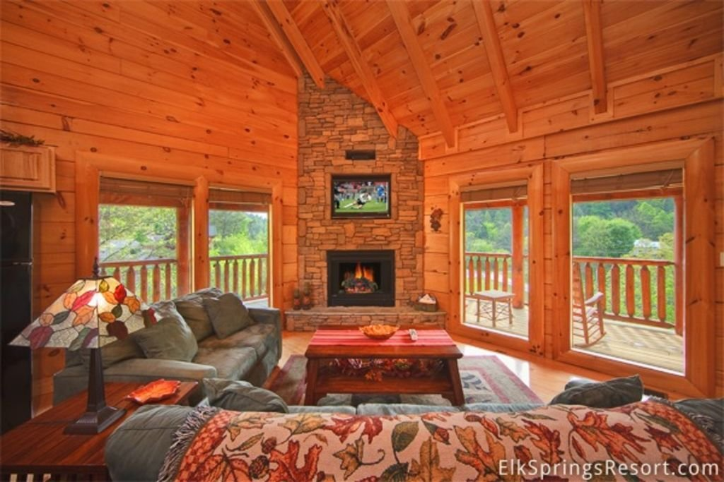 Best Luxury 2 Bedroom Pigeon Forge Cabin Just Steps To Indoor With Pictures