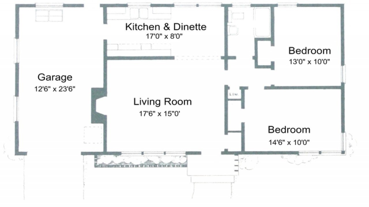Best 2 Bedroom House Plans With Open Floor Plan 2 Bedroom House With Pictures