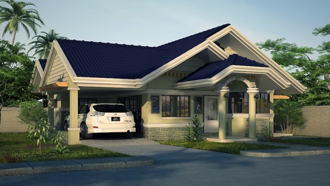 Best 2 Bedroom House Simple Plan Simple House Bungalow Design With Pictures