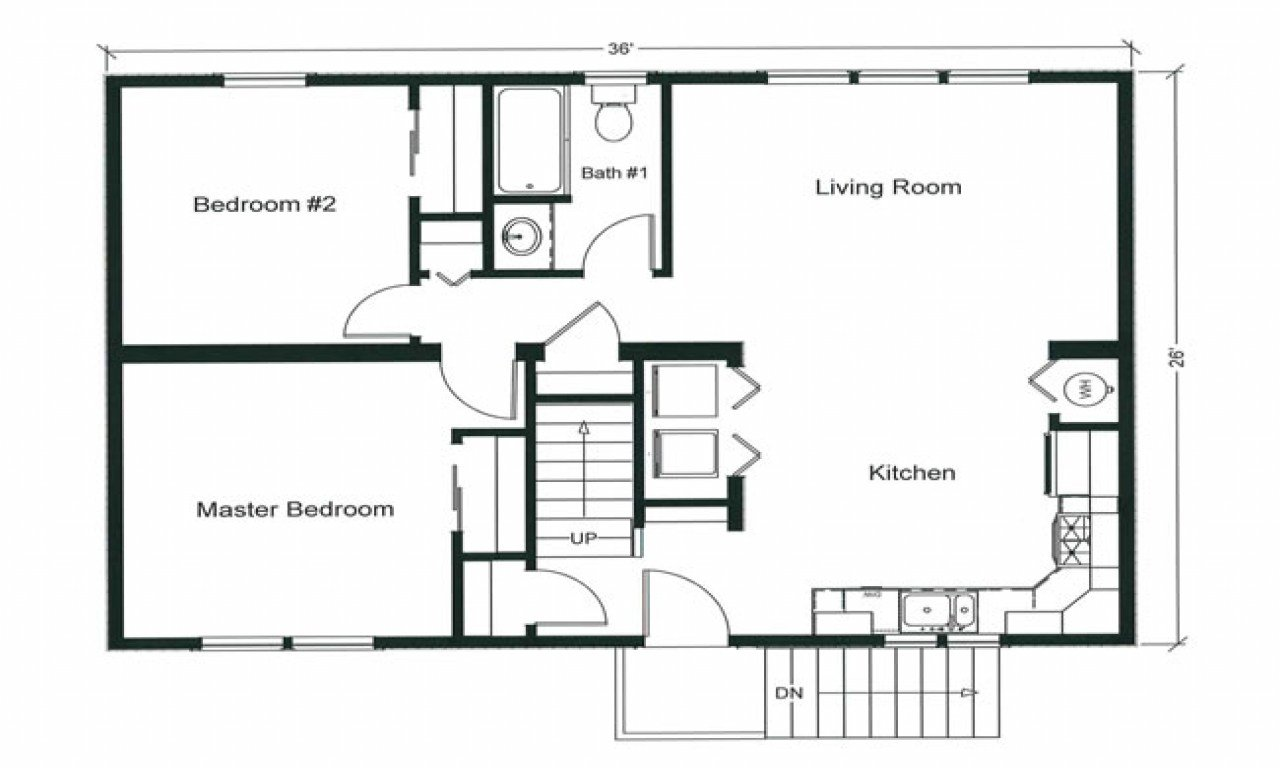 Best 2 Bedroom Apartment Floor Plan 2 Bedroom Open Floor Plan With Pictures