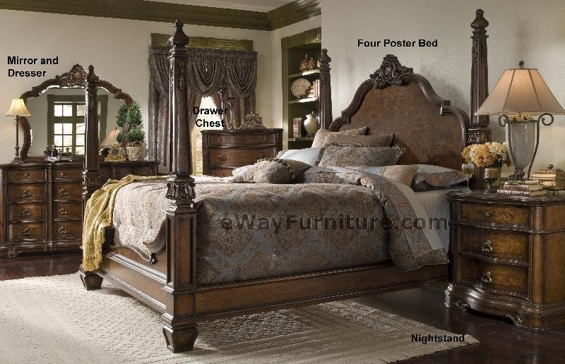 Best Versailles Four Poster Bedroom Set With Pictures