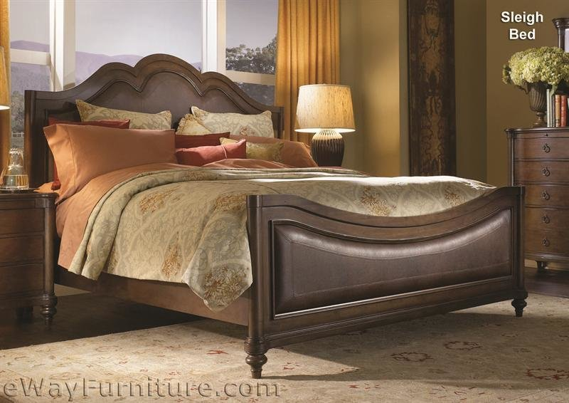 Best Newcastle Sleigh Bed Bedroom Set With Pictures