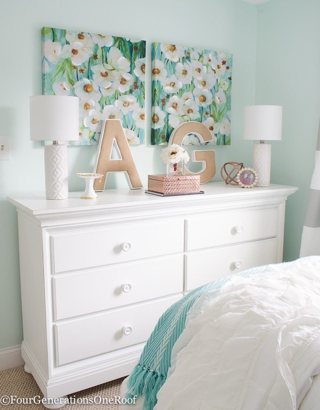 Best Girl Bedroom Makeover Resource List Four Generations One With Pictures