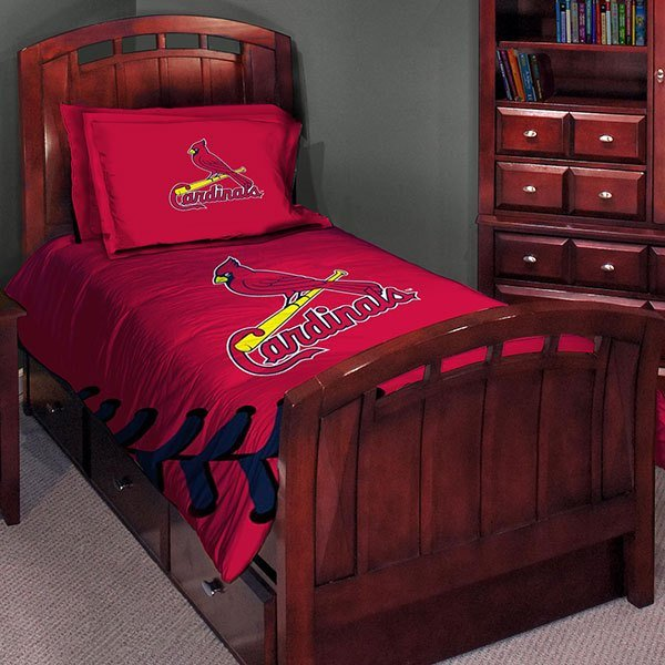 Best St Louis Cardinals Mlb Twin Comforter Set 63 X 86 With Pictures