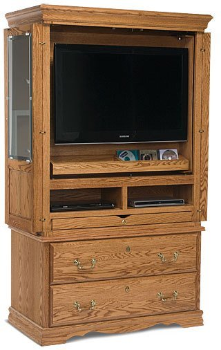 Best Bedroom Furniture Flat Screen Tv Armoire American Made With Pictures