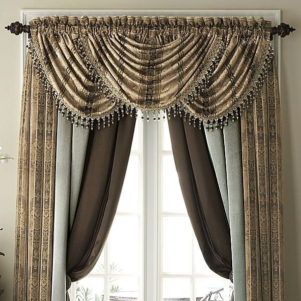 Best Window Curtain Lengths Orange And Brown Window Panels With Pictures