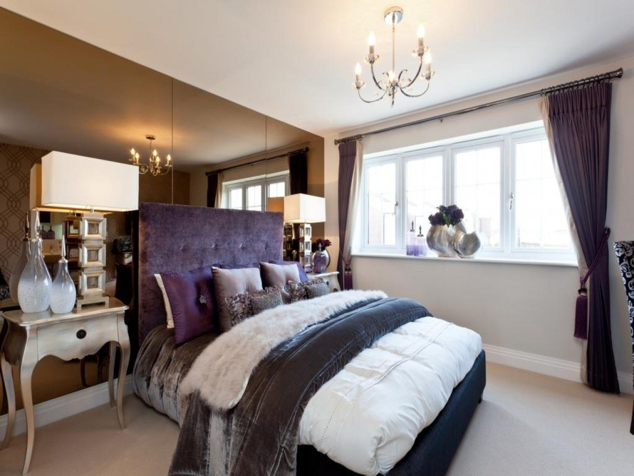 Best Show House Bedroom Ideas Purple And Beige Bedroom Ideas With Pictures
