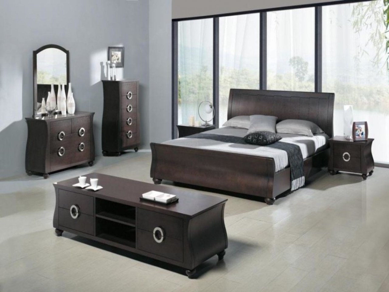 Best Modern Black Bedroom Sets Photos Et Galeries With Pictures