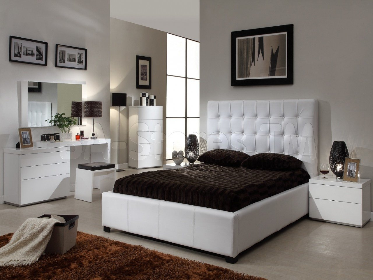 Best Mirrored Nightstands And Dressers Modern Bedroom Sets With Pictures