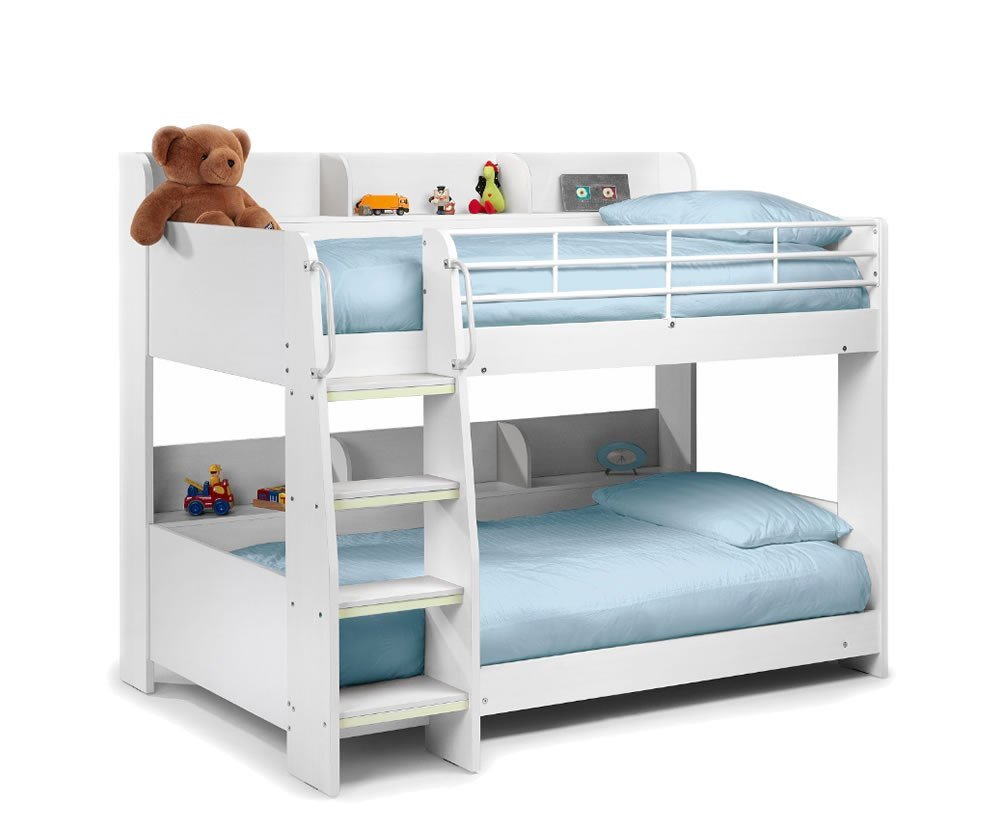 Best Darci Kids White Bunk Bed With Pictures