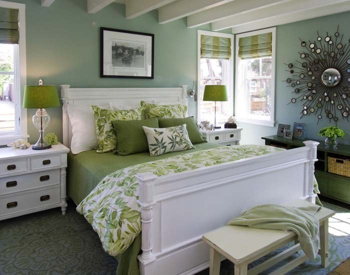 Best 8 Green Bedroom Decorating Ideas For Spring Frances Hunt With Pictures