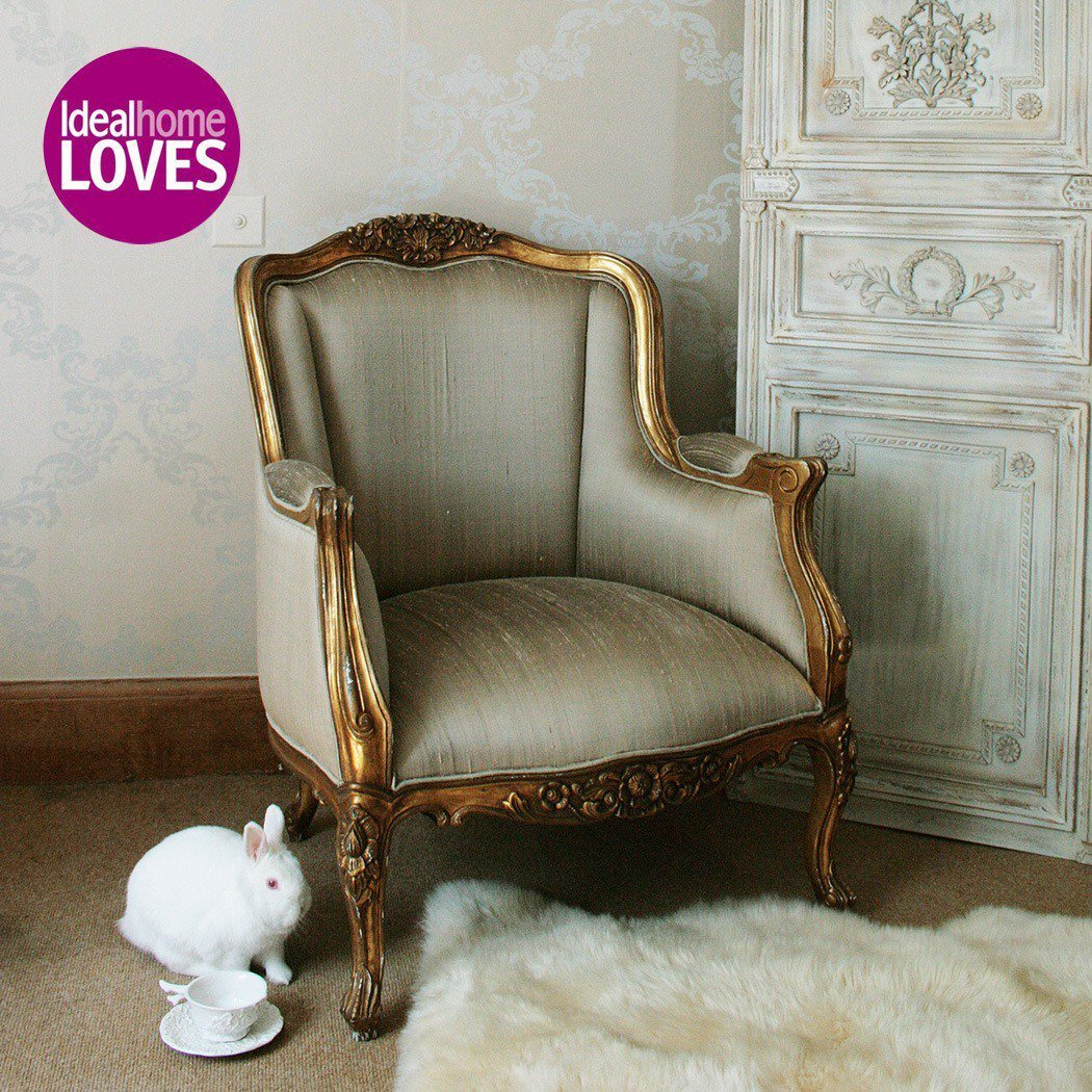 Best Versailles Daddy Gold Armchair French Bedroom Company With Pictures