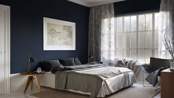 Best 70 Walls Painting Ideas In Dark Shades With Pictures
