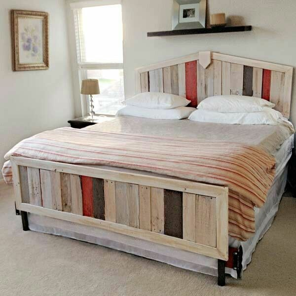Best Euro Pallet Bed Itself Building 30 Ideas For Low Cost With Pictures