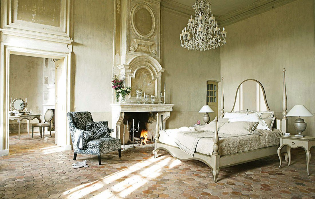 Best Luxury French Bedroom Furniture With Fireplace Ideas With Pictures