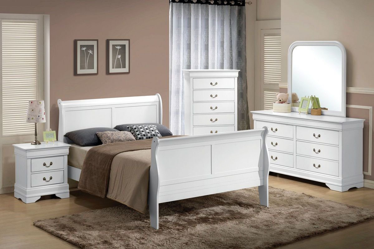Best Serena 5 Piece Queen Bedroom Set At Gardner White With Pictures