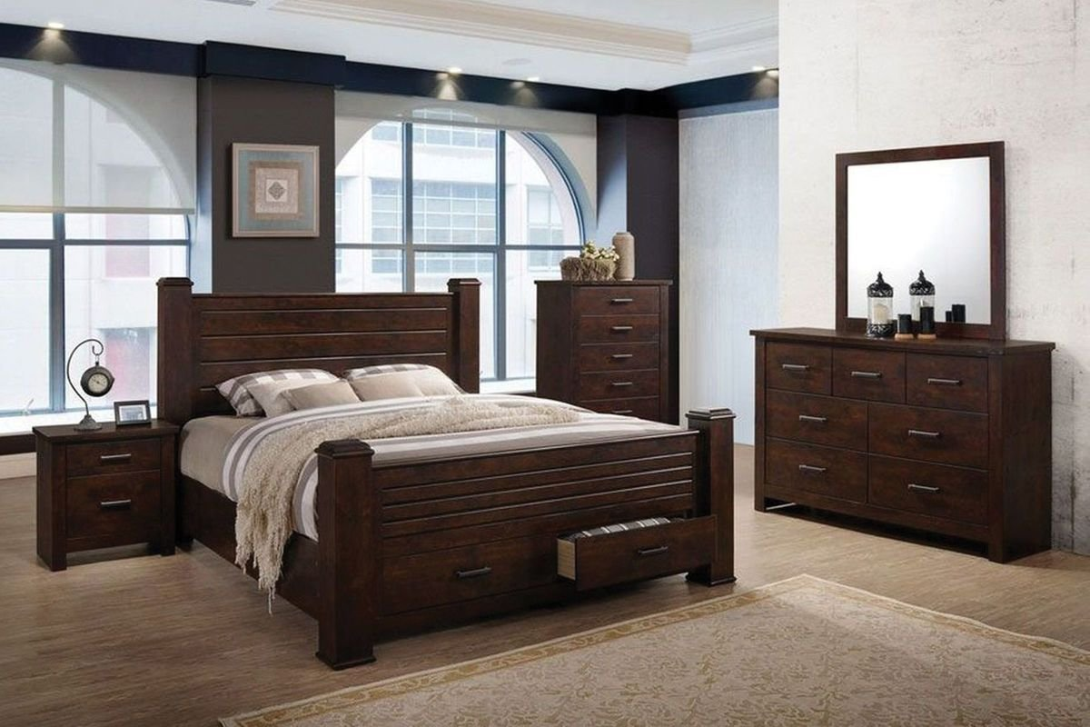 Best Archer 5 Piece Queen Bedroom Set With 32 Led Tv At Gardner White With Pictures