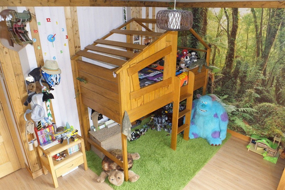 Best 54 Tree House Kids Bed The Boo And The Boy Treehouse With Pictures