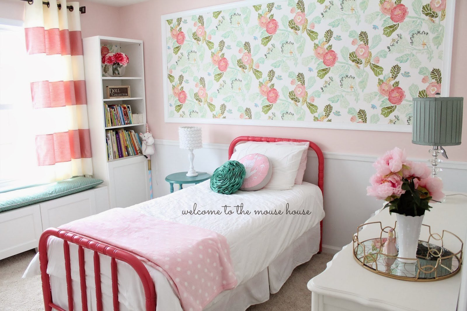Best Ainsley S Anthropologie Inspired Bedroom Welcometothemousehouse Com With Pictures