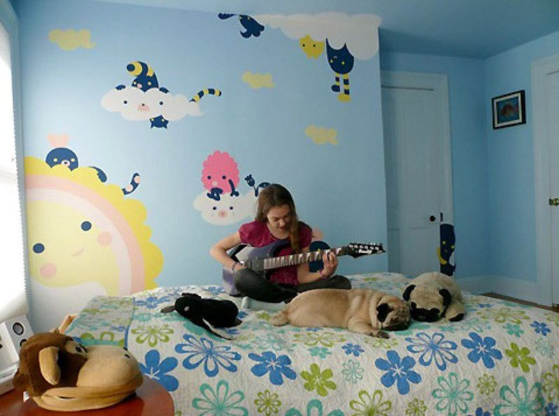 Best Kids Wall Mural 2017 Grasscloth Wallpaper With Pictures