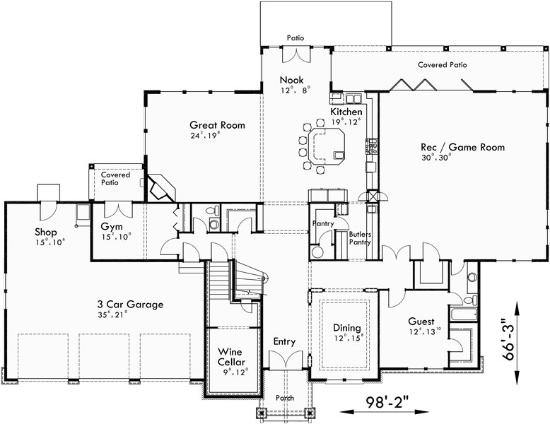 Best Luxury House Plans Craftsman House Plans 4 Bedroom House With Pictures