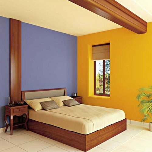 Best Wall Paint Combination For Bedroom Image Home Decorating With Pictures