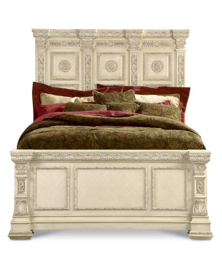 Best Pulaski Royale Silver Bisque Panel Bedroom Collection With Pictures
