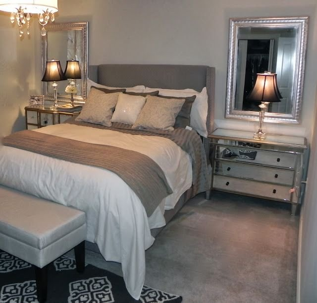 Best Gray And Beige Bedroom Grey Sheets The Paint Is Benjamin Moore Wickham Gray Home Decorating With Pictures