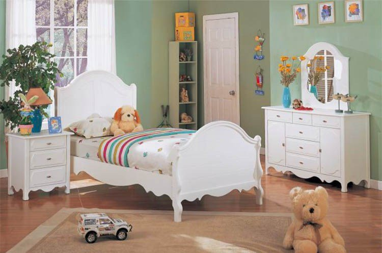 Best Girls' Bedroom Furniture White And Wonderful With Pictures
