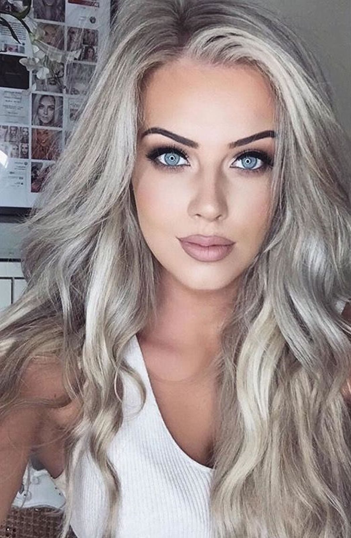 Free Gray Hair Color Ideas 2018 2019 Long Hair Tutorial Wallpaper