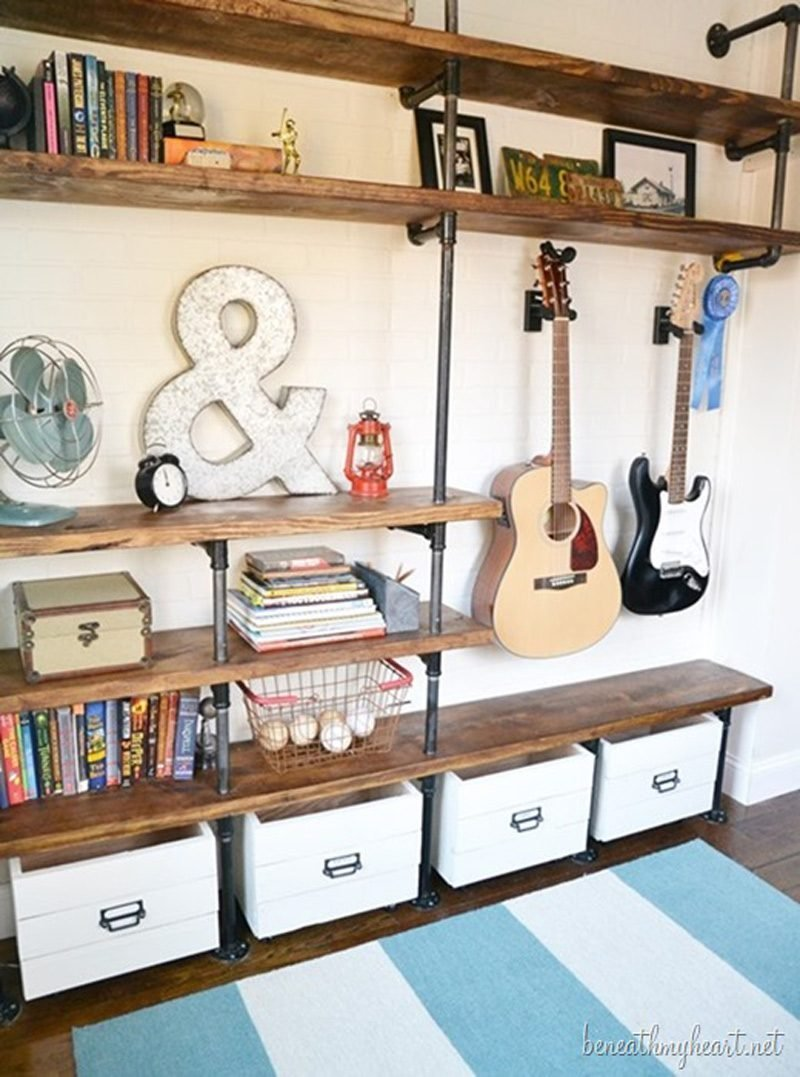 Best How To Make Industrial Shelves Diy Crafts Handimania With Pictures