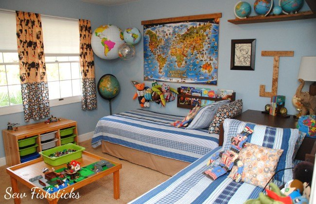 Best All Around The World Boys' Room With Pictures