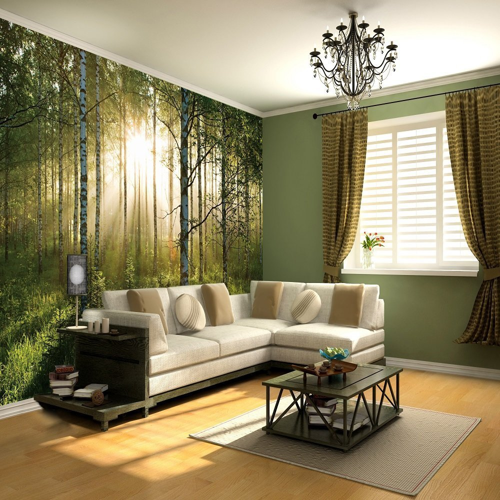 Best 1 Wall Giant Wallpaper Mural Forest 3 15M X 2 32M With Pictures