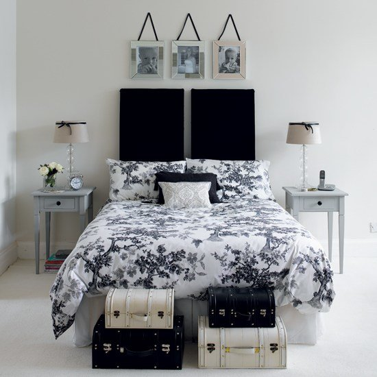 Best Black And White Bedroom Designs – Interior Designing Ideas With Pictures