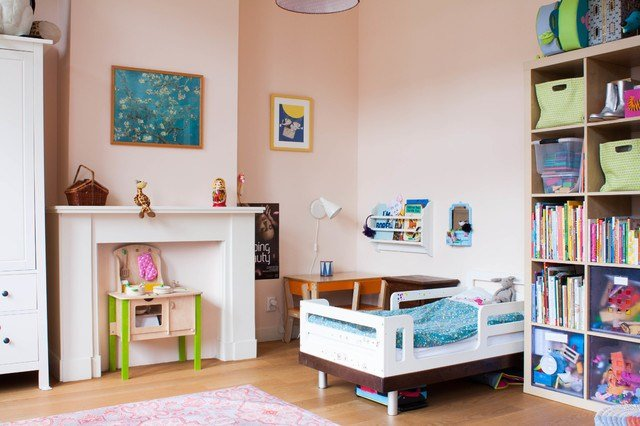 Best Eclectic Kids Room In Eggshell Pink Interiors By Color With Pictures