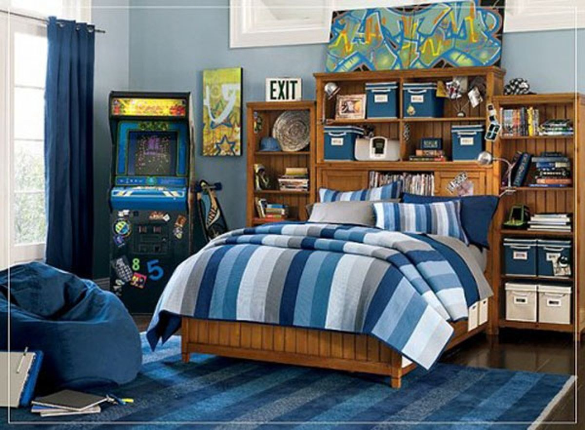 Best Modern Blue Color Scheme For Boys Kids Bedroom Iroonie Com With Pictures