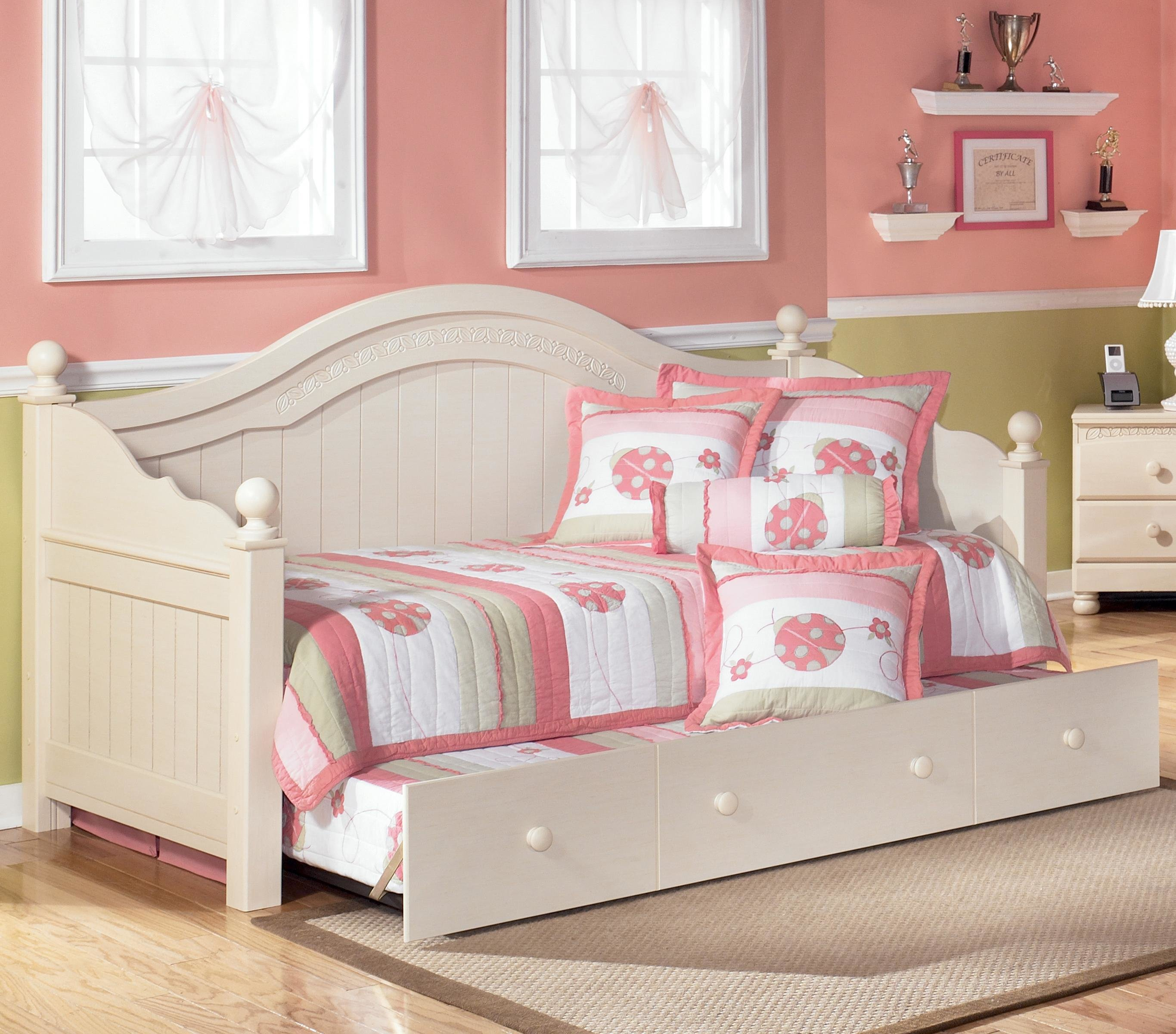 Best Bedroom Cute White Trundle Bed For Inspiring Teenage Girl Bedroom Furniture Ideas With Pictures