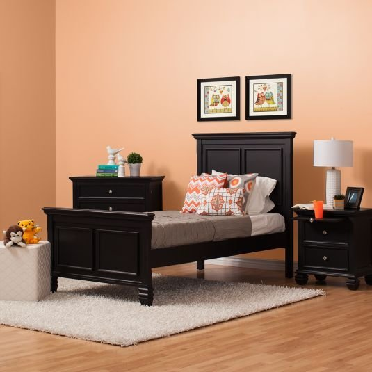 Best Sandy Shore Bedroom Collection Black Jerome S Furniture With Pictures