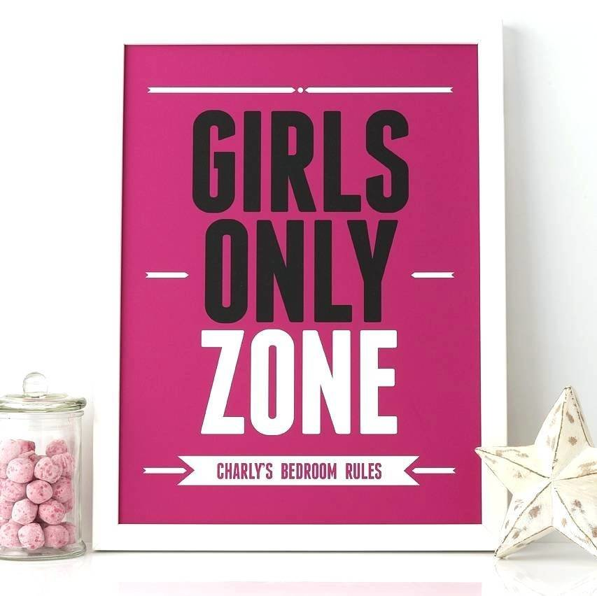 Best Signs To Put On Your Bedroom Door Girls Only Cute Resume With Pictures