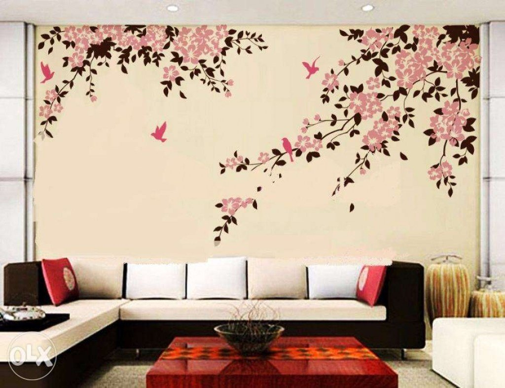 Best Wall Painting Designs For Bedroom Stunning Ideas Easy With Pictures