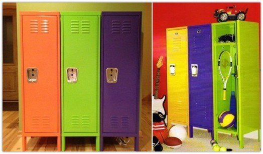 Best 10 Ideas To Use Lockers As Kids Room Storage Kidsomania With Pictures
