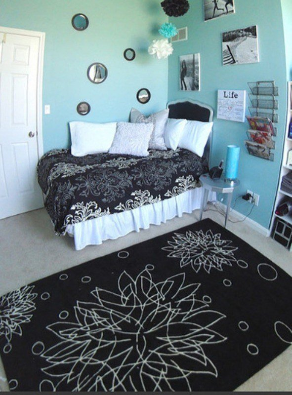 Best 16 Ideas To Use Black And White Rugs In A Kids Room With Pictures